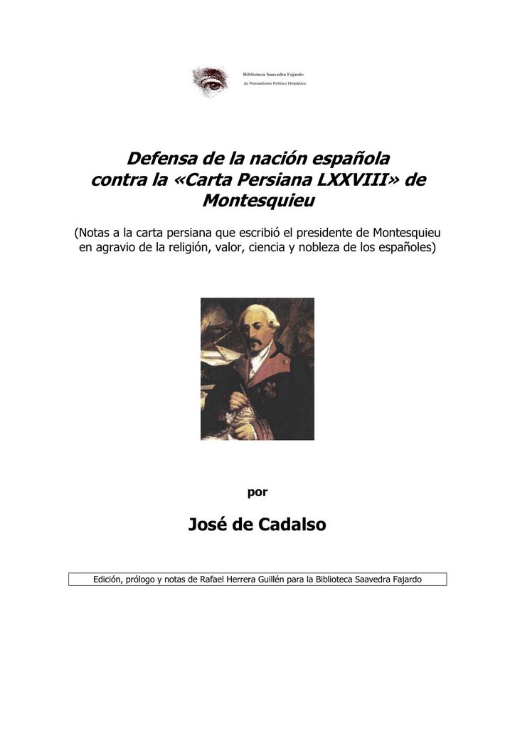 Nación Española Persiana De Defensa La Lxxviii «carta Contra 29bWHeDEYI