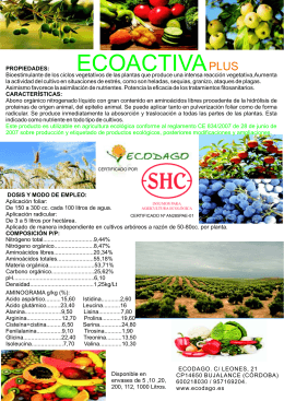 folleto ecoactiva plus
