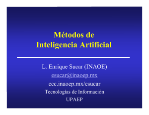 Métodos de Inteligencia Artificial