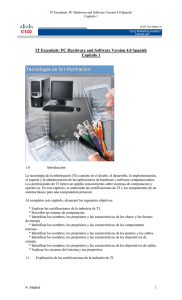 IT Essentials: PC Hardware and Software Version 4.0 Spanish