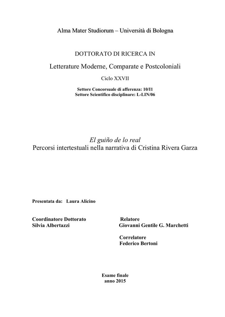 Documento Pdf Ams Tesi Di Dottorato