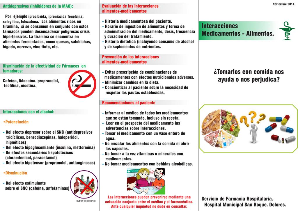 metformina y alcohol efectos