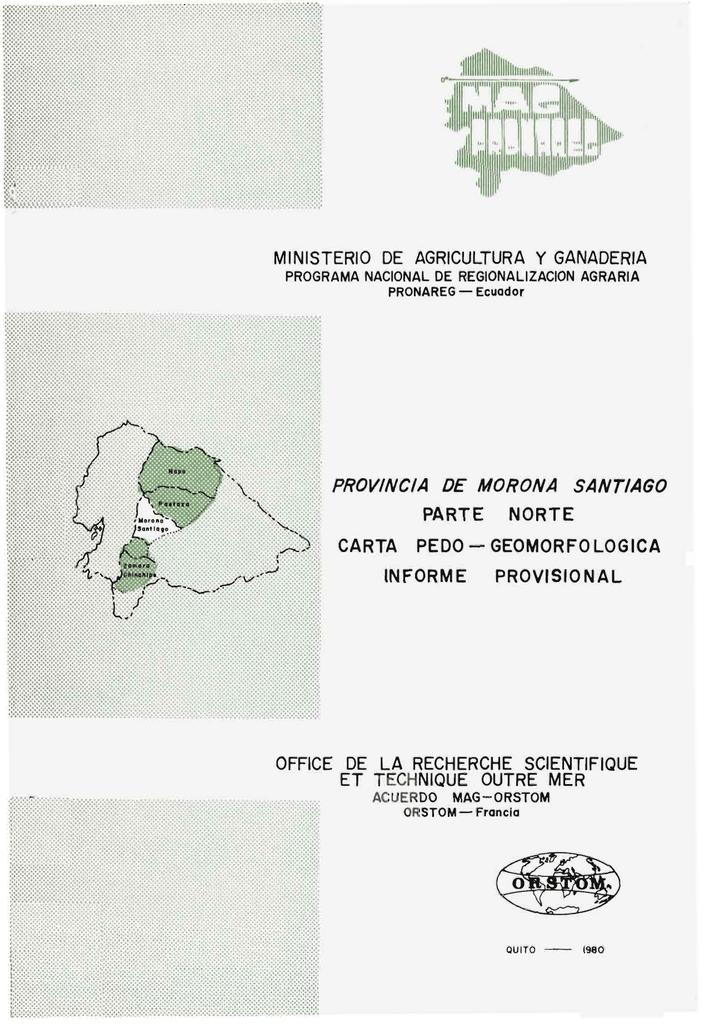 Parte Norte Carta Pedo Geomorfologica Informe Provisional