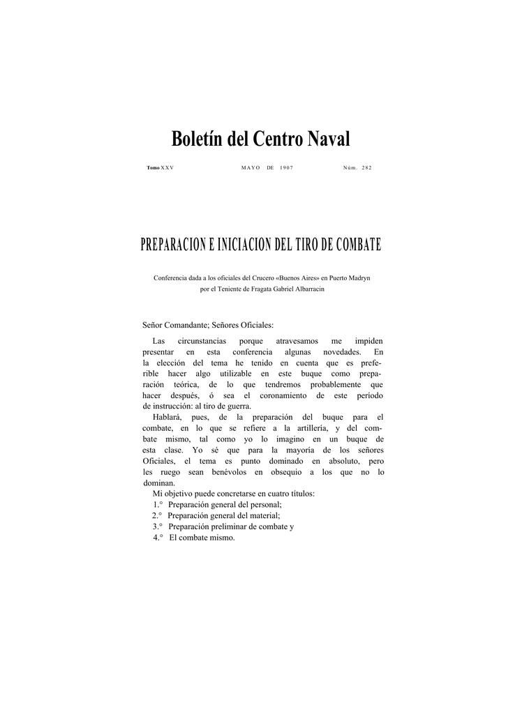 BCN 282-293 - Centro Naval