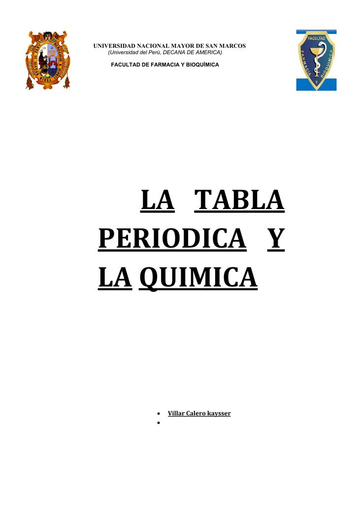 La tabla periodica y la quimica 0083647081 16d237c8afb25da2829b773c6fdf8eaag urtaz Image collections