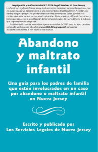 Abandono y maltrato infantil - Legal Services of New Jersey