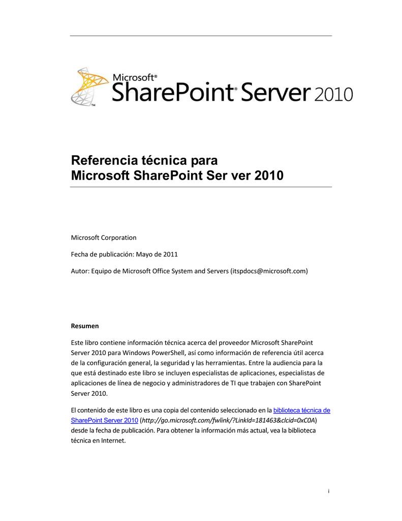 SharePoint Server 2010