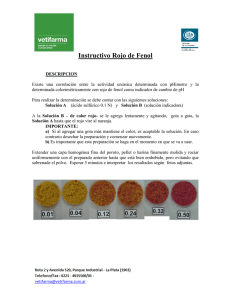 Instructivo Rojo de Fenol