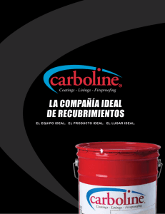 Descargar el folleto corporativo - Carboline Colombia