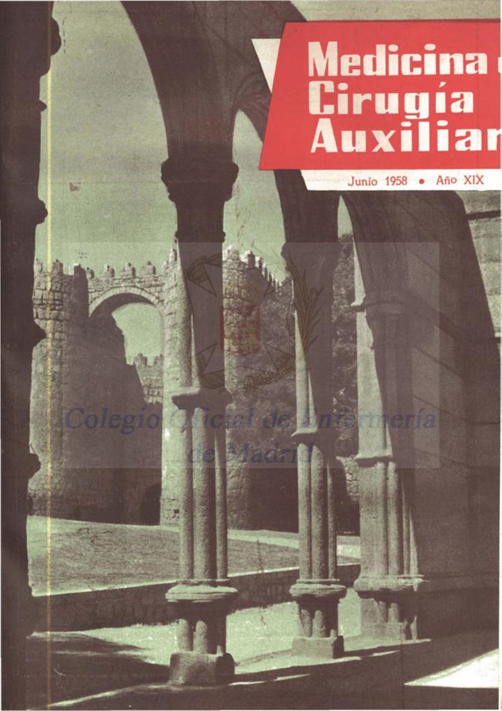 Junio 1958 en PDF - CODEM. Ilustre Colegio Oficial de Enfermería