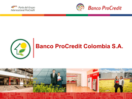 Slide tool box - Banco Procredit