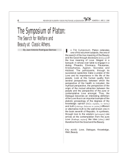 The Symposium of Platon: