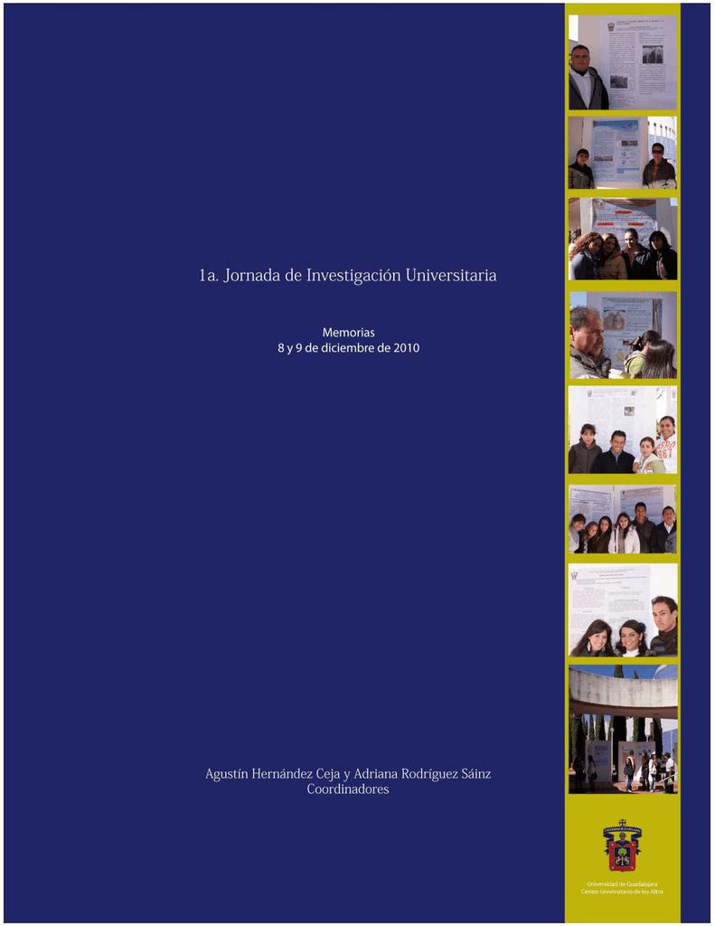 I Jornada de Investigación Universitaria_CUAltos