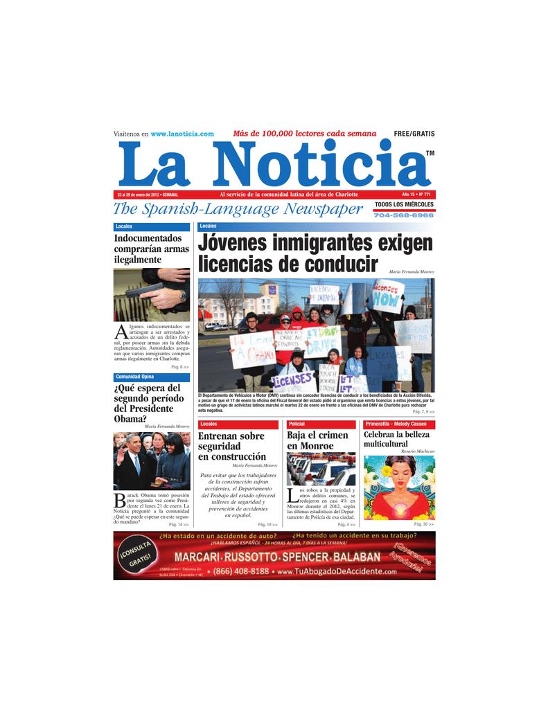 Abogado de inmigración - La Noticia - The Spanish