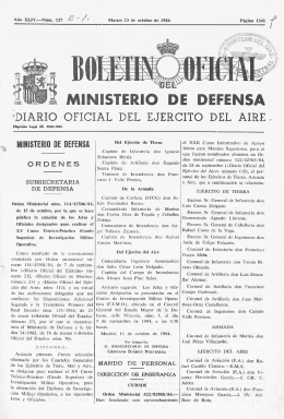 ministerio de defensa - Biblioteca Virtual de Defensa
