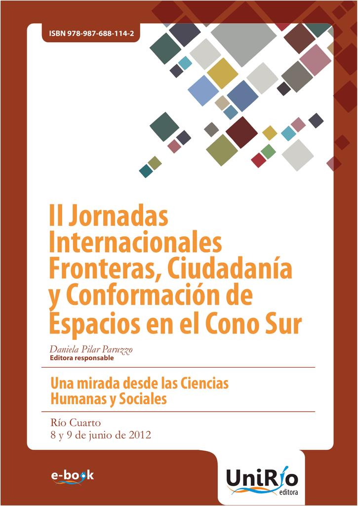 II Jornadas Internacionales Fronteras, Ciudadanía y Conformación