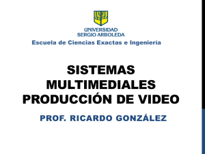 Produccion de Video