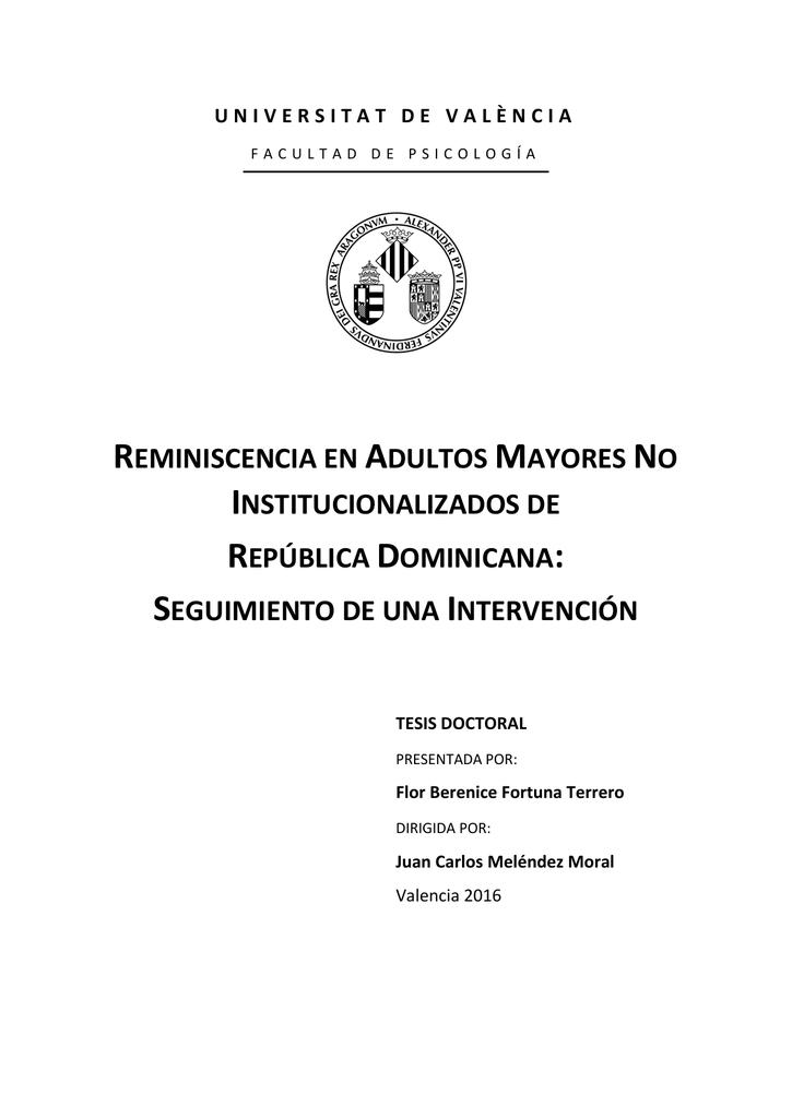 Tesis Dr Flor B Fortuna - Roderic