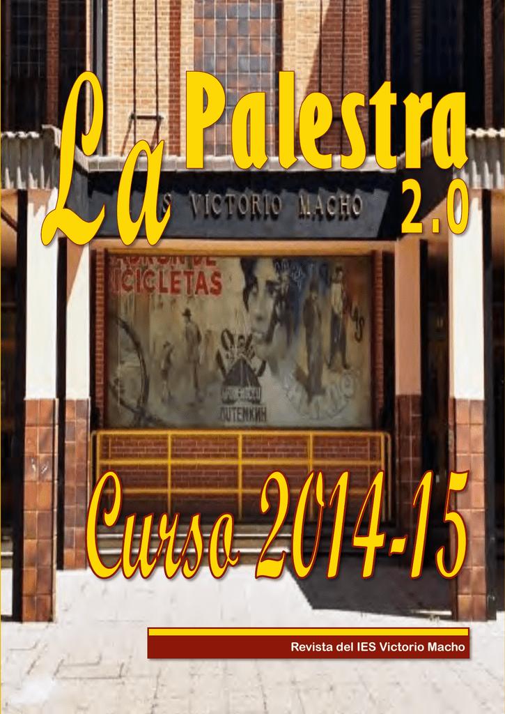 Revista digital LA PALESTRA 2.0 20142015