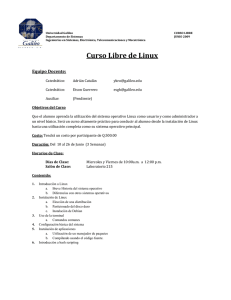 Programa Linux - Universidad Galileo