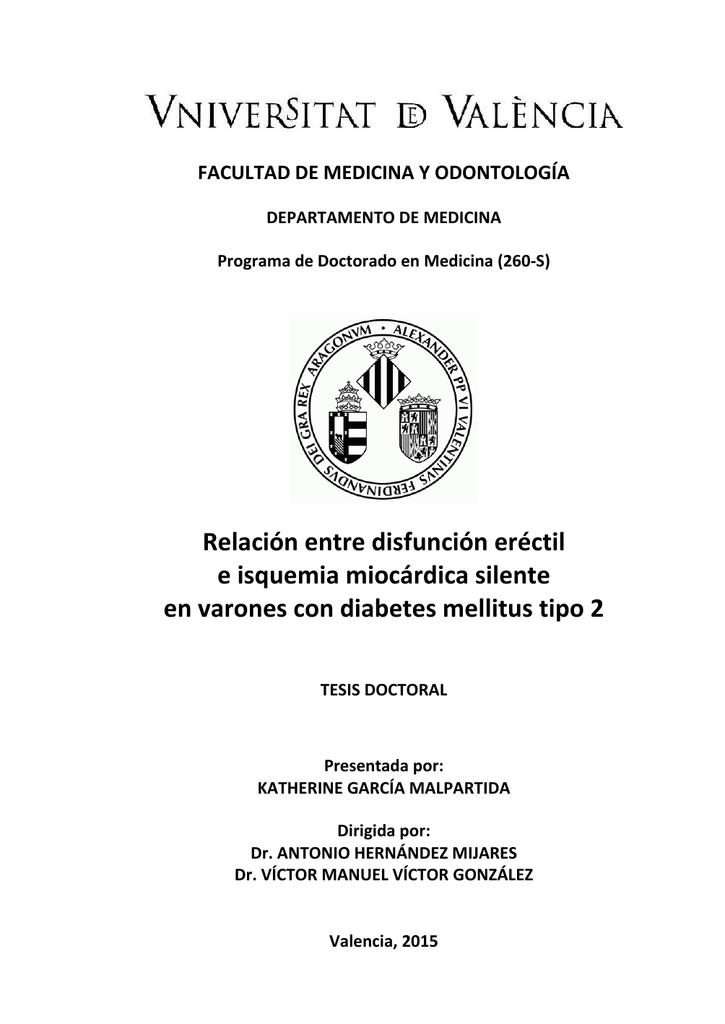 25 disfunción eréctil por diabetes mellitus tipo 2