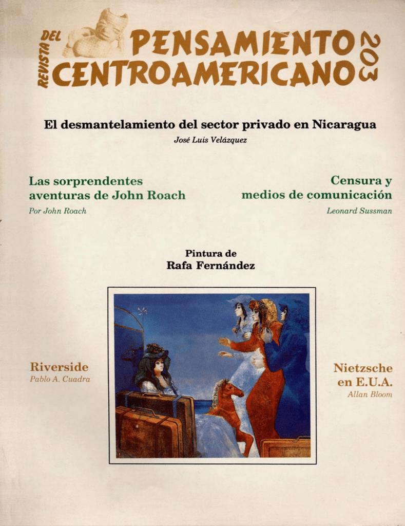 Abril a Junio 1989 No. 203 - Biblioteca Enrique Bolaños