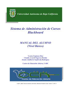 Manual del Alumno (Blackboard)