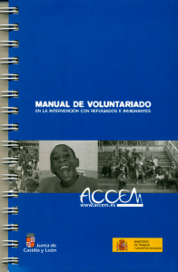 MANUAL DE VOLUNTARIADO