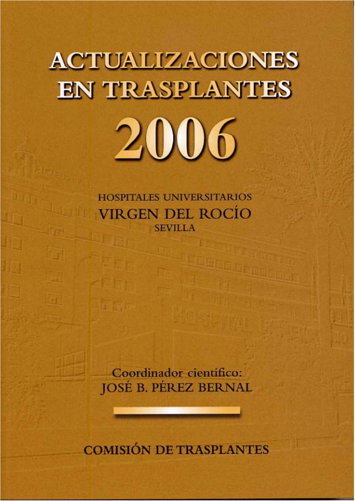 Actualizaciones en Trasplante 2006