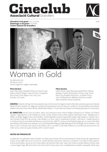 Woman in Gold - AC Granollers