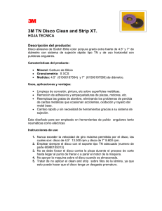 Ficha Técnica Clean and Strip XT TN