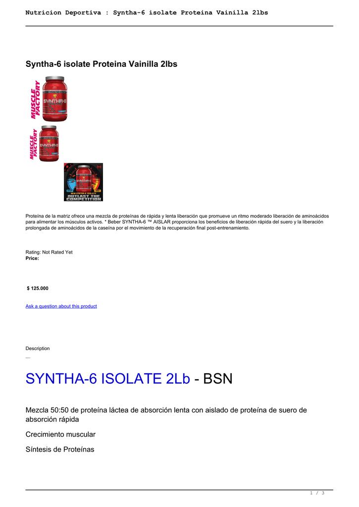 proteina de liberacion prolongada o caseina