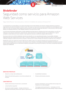 Seguridad como servicio para Amazon Web Services