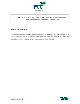 FCC enters Eastern Europe by acquiring