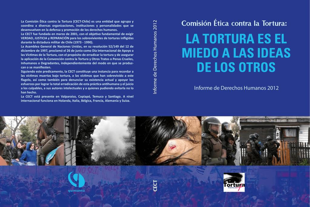 Component K2 Item 216 Premio Nacional A La Defensa De Los Derechos Humanos >> La Tortura Es El Miedo A Las Ideas De Los Otros