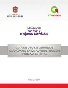 Manual - Dirección General del Sistema Estatal de Informática