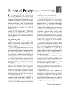 Sobre el Precipicio - Eastwood Church of Christ