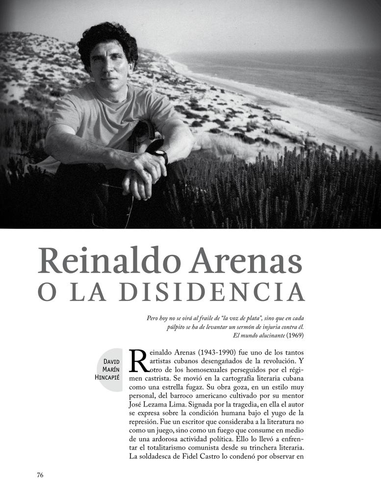 Reinaldo Arenas Universidad De Antioquia