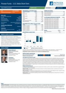 Pioneer Funds – US Dollar Short-Term