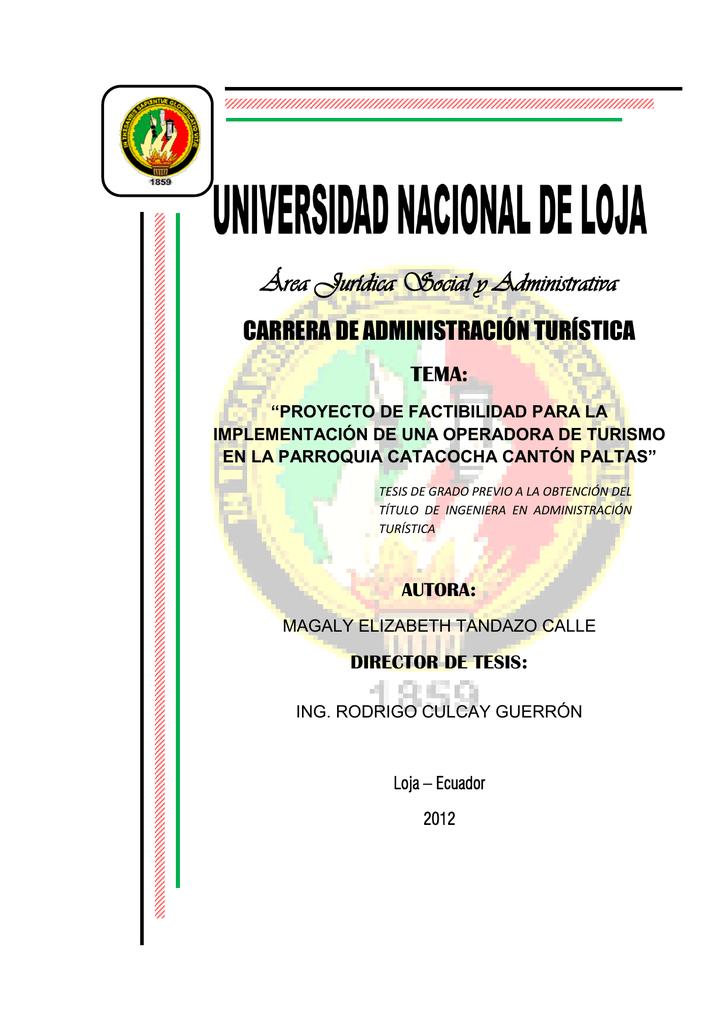 0e6a367f54b49 tesis definitiva unida o - Repositorio Universidad Nacional de Loja