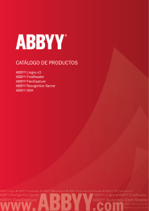Catalogue ABBYY Spain.indd