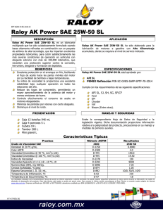 Raloy AK Power SAE 25W