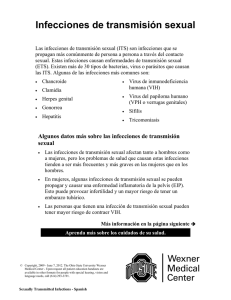 Infecciones de transmisión sexual - Pages