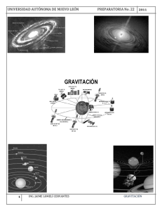gravitación - Preparatoria No. 22