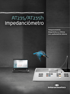 AT235/AT235h Impedanciómetro