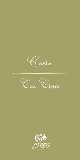 Descargar Carta Tea Time