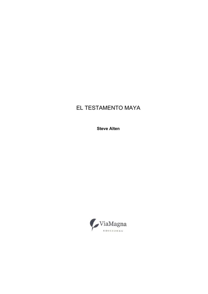 0014da445d el testamento maya - informaticaaplicada.neocitie