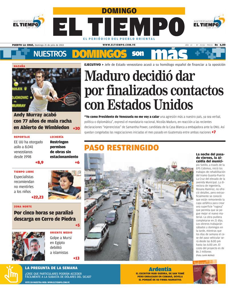 Maduro decidió dar por finalizados contactos con