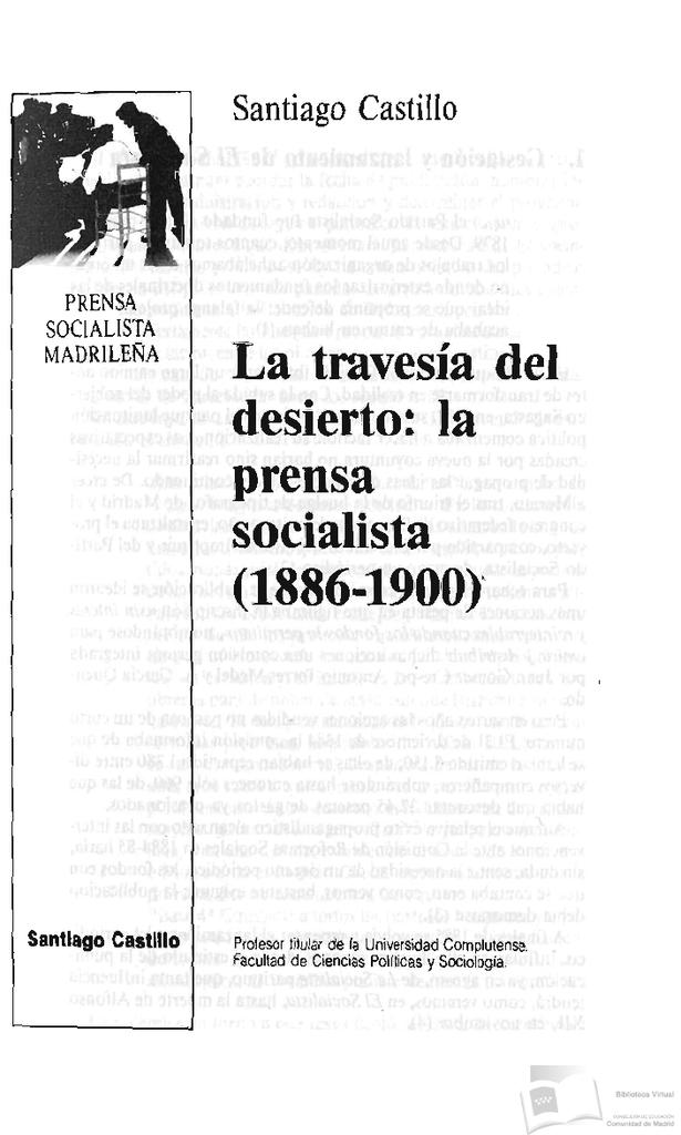 BVCM000160 Prensa Obrera en Madrid 1855 1936