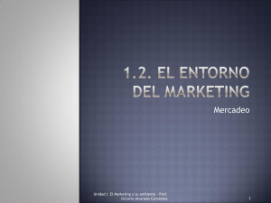 1.2. El entorno del marketing